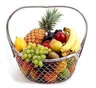 Frisches Obst und Gemüse sowie eine ausgewogene Ernährung stärken das Immunsystem.